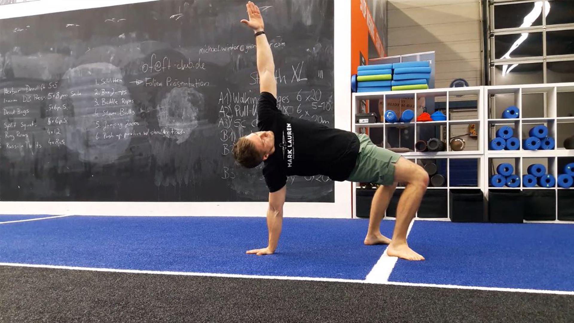 Movement Flow für den kompletten Körper